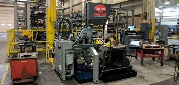D&S Installs New Marvel 2000 Series Vertical Tilt-Frame Band Saw